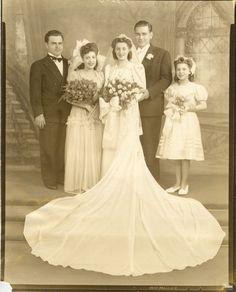 1940s wedding                                                                                                                                                                                 More
