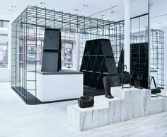 Alexander Wang Sets Up A Giant Deck Of Cards Within The Cage