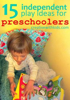 15 creative Ideas for Entertaining Preschoolers