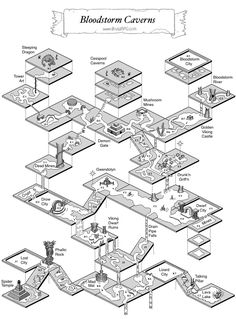 Isometric Map, Isometric Drawing, Dungeons And Dragons 5e, Dungeons And Dragons Homebrew, Pen & Paper, Rpg Map, Map Layout, Dnd 5e Homebrew, Adventure Map