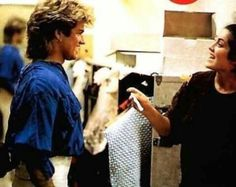 George Michael and his sister