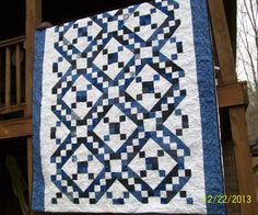 Jacob's Ladder quilt