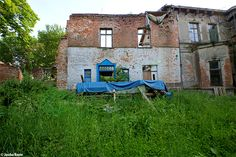 Gutshaus Groz Lunow (D) June 2014 abandoned house in the former east Germany DDR urbex decay Photo by: Jascha Hoste