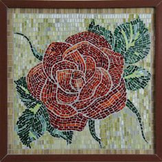 Stained glass micro mosaic wall decor