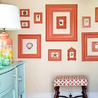 2014 blue and coral bedrooms | apricot wall color, coral pink, coral pink and aqua blue, aqua blue ...