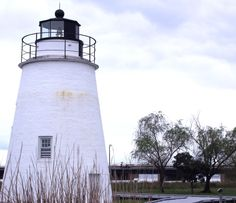 Lighthouses & Sunken Submarines: St. Mary's County, Maryland