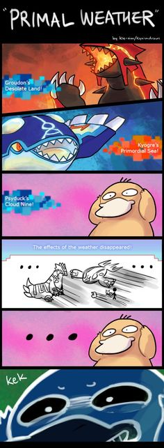 Pokemon ORAS: Primal Weather - CONFIRMED by ky-nim.deviantart.com on @DeviantArt