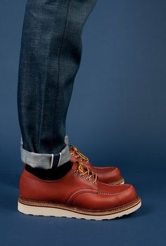 Jeans + Red Wing Oxfords