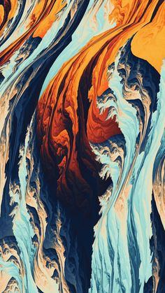Torrent, pattern, fractal, 1080x1920 wallpaper Painting Wallpaper, Lit Wallpaper, Mobile Wallpaper, Wallpaper Backgrounds, Iphone Wallpaper, Pattern Wallpaper, Supreme Wallpaper, Ios Wallpapers, Marble Art