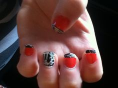 Just did Ashley's nails(: