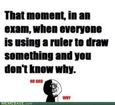 I hate this! I feel like something like this will inevitably occur during my first accounting exam next week haha! Soooo not looking forward to it =(
