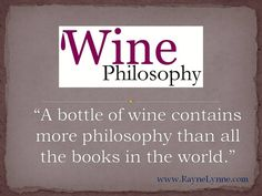 Are you adventurous enough? Click photo to read about what wine actually offers ~