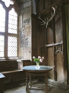Haddon Hall  England, Is The Inspiration For Thornfield Hall In Jane Eyre.
