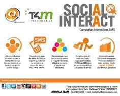 Social Interact - CAMPAÑAS INTERACTIVAS en #socialmedia y #sms