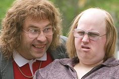 Little Britain- Vicky Pollard: Anyway don't listen to her coz everyone knows her fanny goes sideways.
