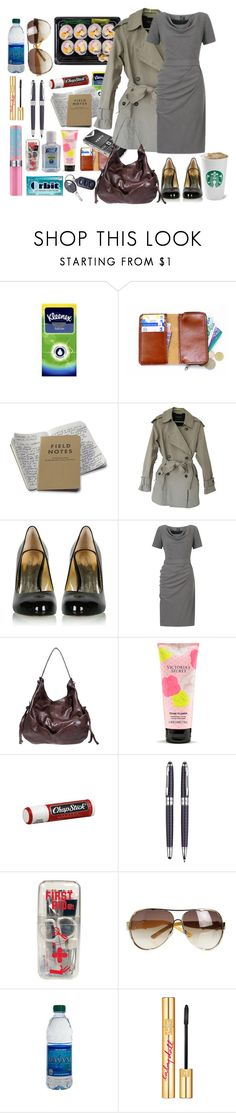 """Job"" by werewolf-gurl ❤ liked on Polyvore featuring Kleenex, AllSaints, Katia Lombardo, COSTUME NATIONAL, Victoria's Secret, Chapstick, Wild & Wolf, Marc Jacobs and PUR"