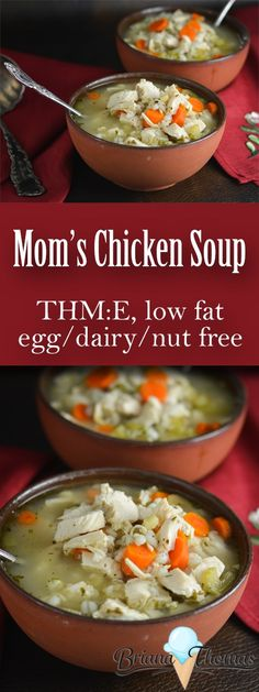 mom s chicken soup fat free