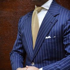 Like the brighter blue with the pinstripes, spot on!