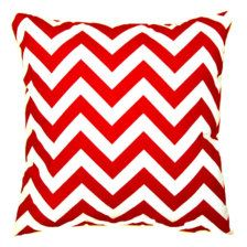 Pillows for the sofa.  Use two to three different fabrics.  Could monogram the chevron ones with your names or Georgia Bulldogs.  One word per pillow.