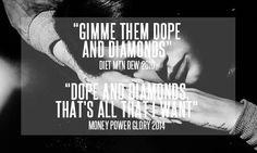 Lana Del Rey - Diet Mountain Dew/ Money Power Glory (lyrics parallels)