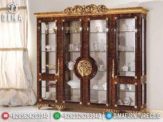Rococo Furniture, Cool Furniture, Furniture Design, Crockery Cabinet, Kitchen Cabinet Organization, Interior Decorating, Interior Design, Luxury Sofa, Showcase Design