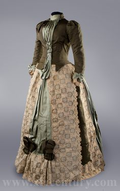 Dress, 1880's From 19th Century