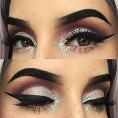 Kayteeellen Instagram- Let's take a moment to appreciate @makeupgeekcosmetics eyeshadow in #highwire! Dang!! Such a pretty pale lilac! Also wearing #dramaqueen and #promnight eyeshadows with their eyeliner in #orchid ! I'm loving it! all details of this look are listed on my previous picture!