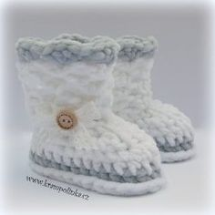 Welcome to my channel Crochet for Baby. In today's tutorial I will show you how to crochet these cute baby booties or baby shoes. Crochet Baby Blanket Beginner, Crochet Baby Beanie, Crochet Baby Shoes, Newborn Crochet, Crochet Baby Booties, Baby Knitting, Crochet For Beginners, Crochet For Kids, Crochet Patron