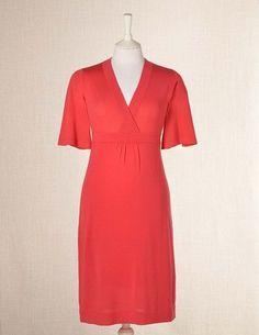 Merino Dress - radish