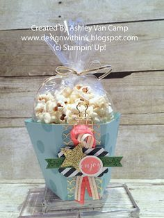 Design With Ink: July Club Project...Triple Popcorn Box