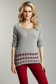 Nice Cashmere Sweater.