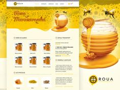 One Page Website Design by Creatiph Market on @creativemarket