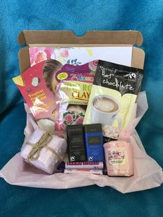 Cadbury Chocolate Bars, Hot Chocolate Sachets, Pamper Hamper, Organic Candles, Gift Sets For Her, Birthday Gifts For Girls, Happy Birthday, Sending Hugs, Spa Gifts