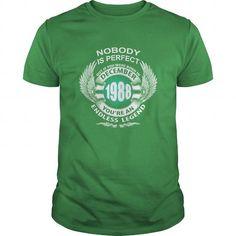 I Love 12 December 1988 Born Birthday Shirts T Shirt Hoodie Shirt VNeck Shirt Sweat Shirt Youth Tee for Girl and Men and Family T-Shirts