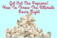 Jeannie Mai and Katie Chin Show How to Throw the Perfect Movie Night Why not add some drama, comedy and adventure to your next get together by organizing a movie night? Movie nights are a great way to kick back and have fun with your friends. We've put together some great ideas to make your movie night memorable and award-worthy. Check out these and many more in the video above.