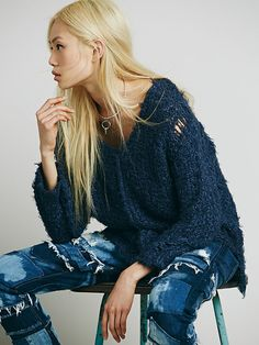 Free People Up the Ladder Pullover, $128.00