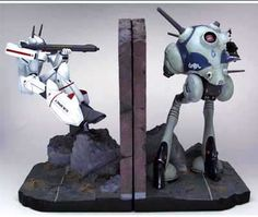 Robotech bookends? Yes please!