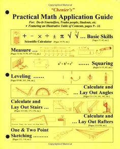Chenier's Practical Math Application Guide