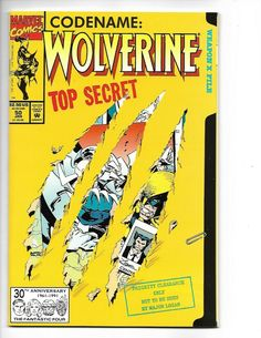 Wolverine # 50 Marvel Comics Vol. Wolverine Comics, Marvel Comics Superheroes, Logan Wolverine, Marvel Comic Books, Marvel X, Book Cover Art, Comic Book Covers, Book Art, Comic Books For Sale