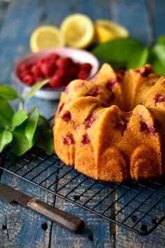 Sweet Gula: Bolo de Espelta, Limão e Framboesa