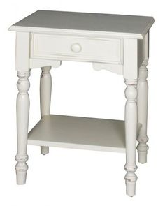 Unique White High Gloss Side Tables