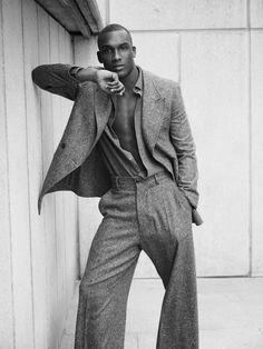 black-boys: Dylan Williams at Elite London Black Male Models, Male Models Poses, Male Poses, Guy Models, Black Pics, Men Photoshoot, Photography Poses For Men, Fashion Poses, How To Pose