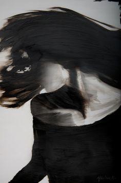 Saatchi Online Artist: Janel Eleftherakis; Oil, 2013, Painting Sepia Series #6