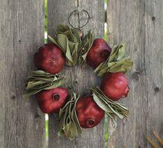 pomegranate wreath.