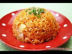 Korean Food: Fried Kimchi Rice (김치 볶음밥)
