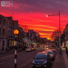 Stunning captured in last weekend by Spencer Bentley. This is our most 'liked' photo ever - it's easy to see why! St Andrews Scotland, It's Easy, This Is Us, Ireland, Sky, Facebook, Sunset, Instagram Posts, Travel