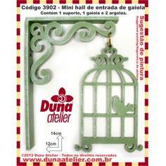Duna Atelier - Gaiolinha hall-de-entrada! https://www.facebook.com/Dunaatelier