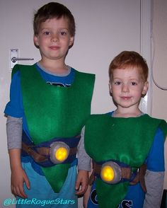Tree Fu Tom - full costume - PimleyDavison Design