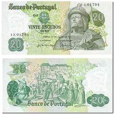 Notas de Portugal e Estrangeiro World Paper Money and Banknotes Old Coins, Rare Coins, Singapore Dollar, Money Notes, Coin Collecting, Vintage World Maps, Paper, Bank Deposit, Coin Worth