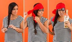 Transform into a pirate in a flash with this how-to.
